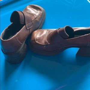Vintage STEVE MADDEN chunky heels
